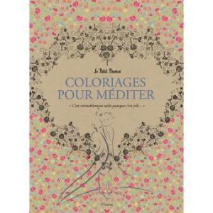 coloriage pour méditer du Petit Prince